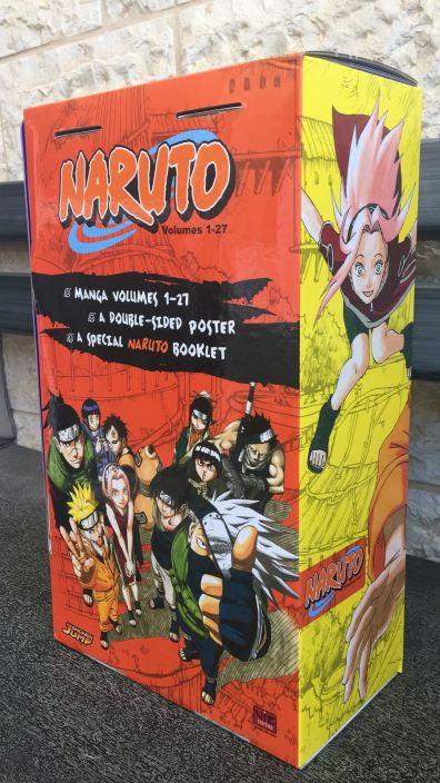 Naruto BOX 1 - back