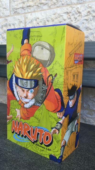 Naruto BOX 1 - Front